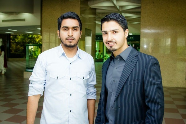 With Saad Khan