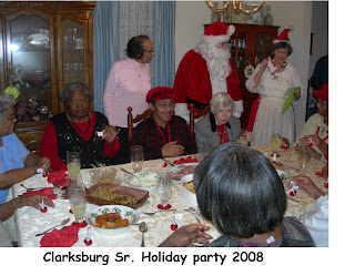 Clarksburg Senior Holiday Party '08