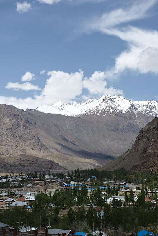 Khorog, orasul de la poalele muntilor.