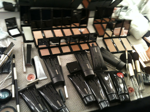 His kit of Jouer goodies! P.S. For all of you oily girls, the brand is coming out with a matte tinted moisturizer for fall.