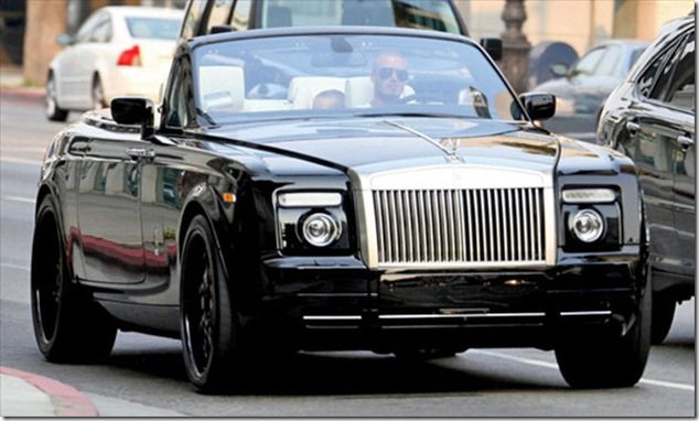 photo of Eva Longoria Bentley - car