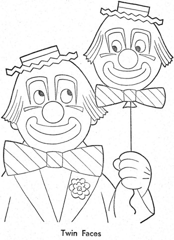 palhaço-colorir-Clowns To Color-coloring page-00023