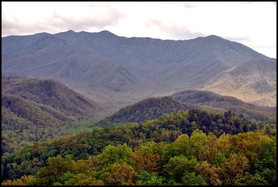 14 - Last View of Day - Mount Le Conte