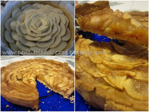 Apple Creamy Tarte 1