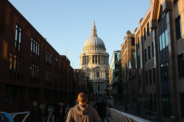 St Paul's in Beautiful Autumnal Light