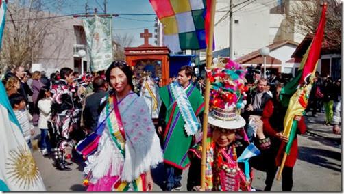 El intendente acompañó los Festejos por la Virgen de Urkupiña