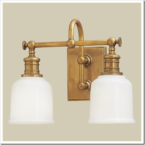 brass light