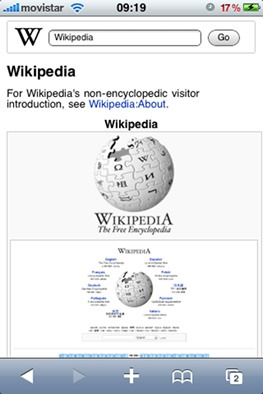 Wikipedia movil