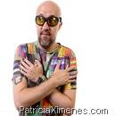 Fabrício Carpinejar, novo apresentador da TV Gazeta durante gravação de programa piloto. 30/01/2012 - Estúdio TV Gazeta - Foto: Marcelo Ferrelli/Gazeta Press