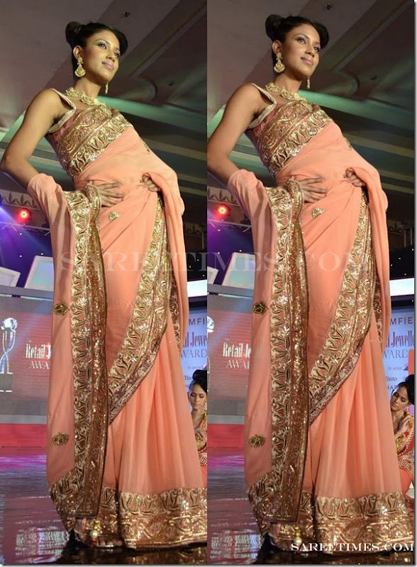 Sruthi_Sancheti_Orange_Saree