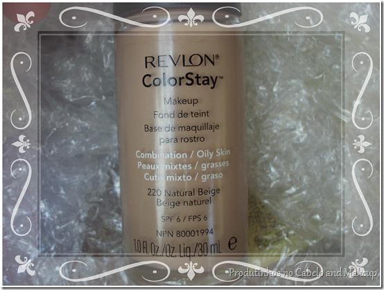 Revlon Colorstay pele oleosa