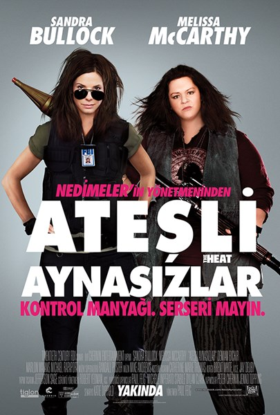 Ate�li Aynas�zlar | The Heat | 2013 | 1080p | BluRay | x264 | DUAL