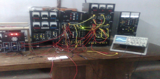 Overall set up for IGBT inverter