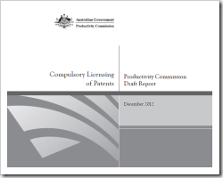 Compulsory Licensing Draft Report Cover