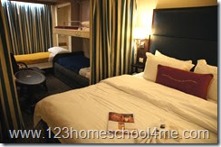 Disney Cruise Line Review - HUGE staterooms