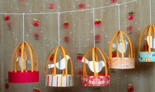 decoração passarinhos