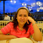 Wifey waiting for our order in Chika-an at Abreeza