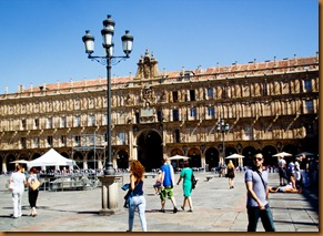 Salamanca Plaza major