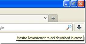 Firefox 20 pulsante per aprire il download manager