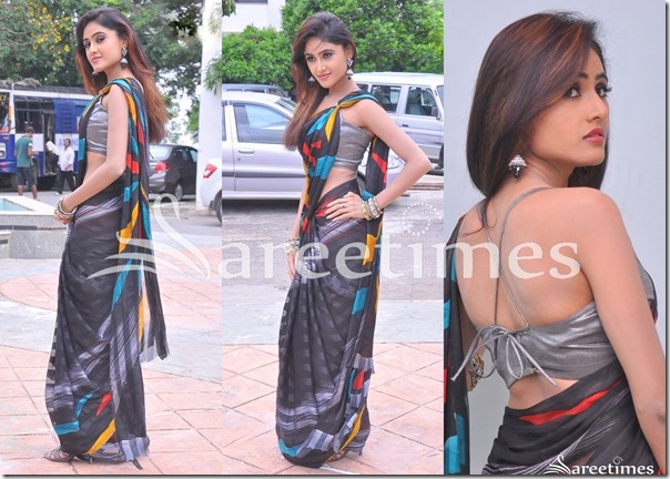 Sony_Charishta_Black_Saree