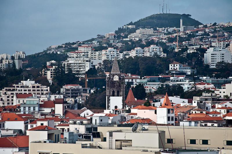 6. Город под нами и вокруг нас. Канатная дорога. Фуншал. Мадейра. Круиз на Costa Concordia.