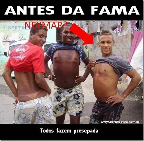 Neymar antes da fama