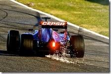 La Toro Rosso nei test di Jerez