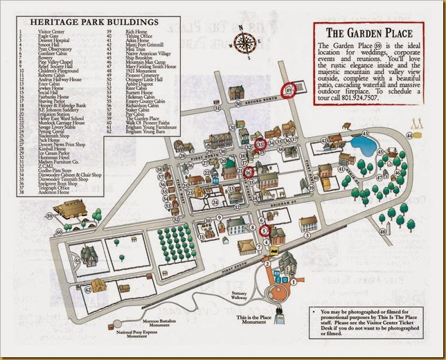 This Is The Place map