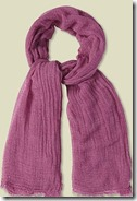 White Stuff Deep Pink Scarf