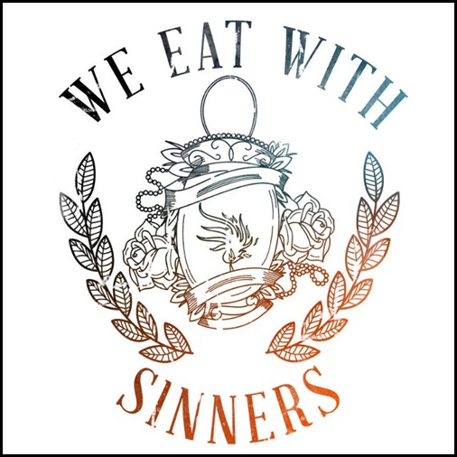 We Eat With Sinners - capa