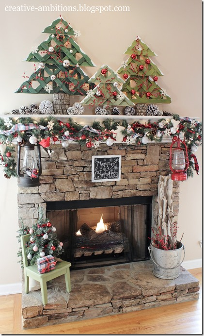 Christmas Mantel 2014 (b)