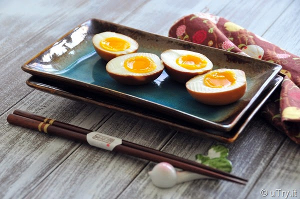 Soy Marinated Soft Boiled Eggs with video tutorial   http://uTry.it