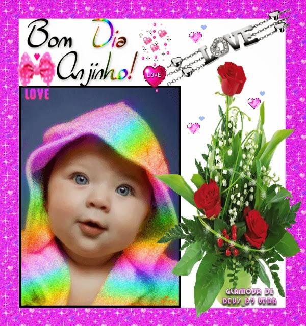Bom dia Anjinho foto de criança bebe lindo