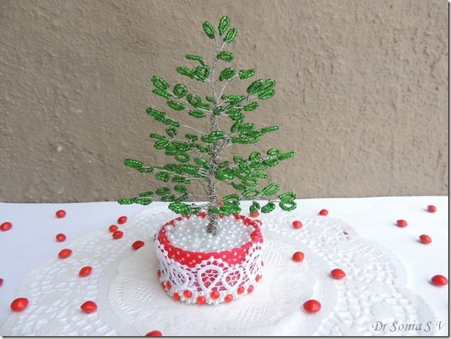 Beaded tree tutorial 16