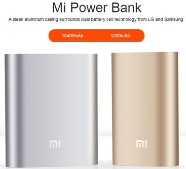 Xiaomi Philippines Mi Power Bank 5200mAh 10400mAh