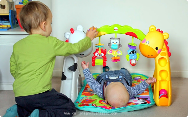 fisherprice newborn toddler play gym