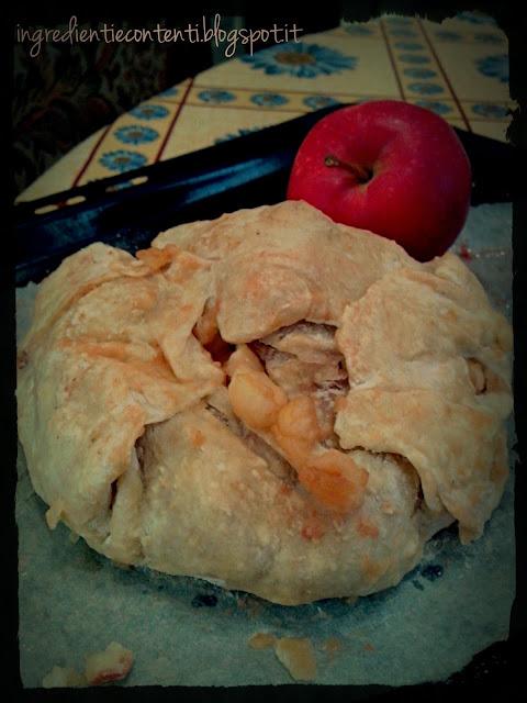 strudel di mele senza grassi e zuccheri aggiunti
