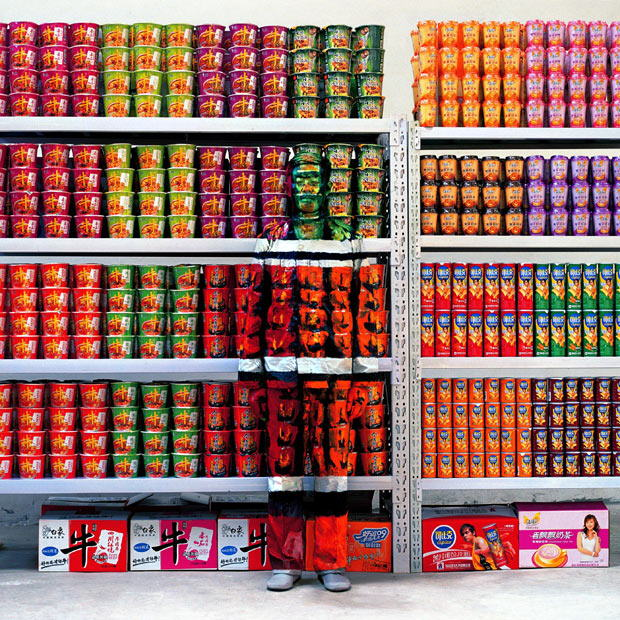 Liu Bolin : A Chinese artist renowned for his camouflage art