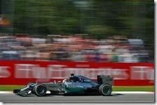 Hamilton vince il gran premio d'Italia 2014