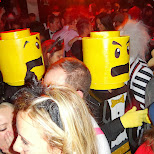 LEGO dudes at the halloween party in Mississauga, Ontario, Canada