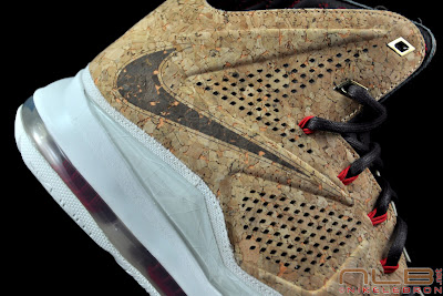 lebron10 nsw cork 44 web black The Showcase: NIKE LEBRON X Cork World Champions Shoes
