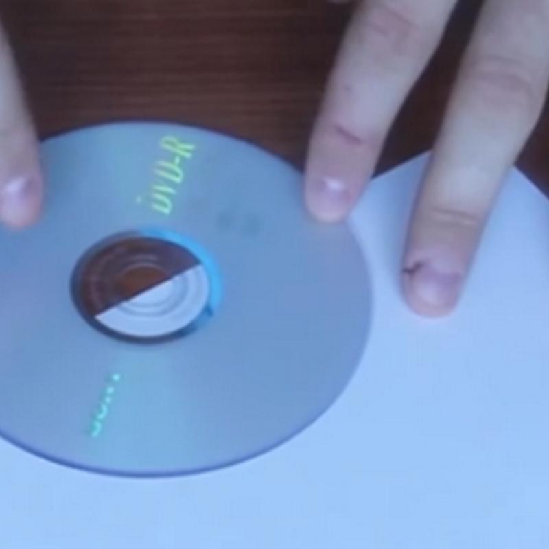 ซองใส่ซีดีหรือแผ่นดีวีดีแบบฉุกเฉิน