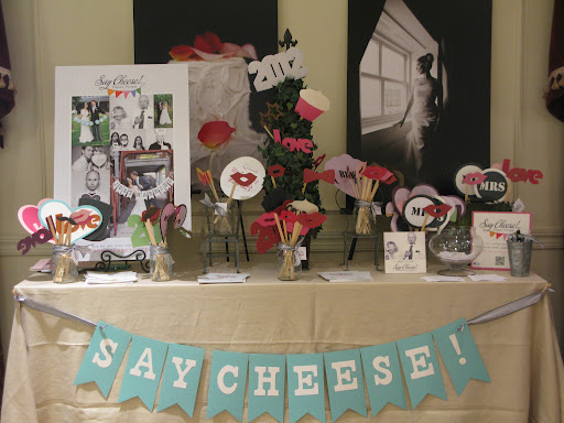 These products from Say Cheese Paper Props would be a great addition to a photo booth for your wedding.