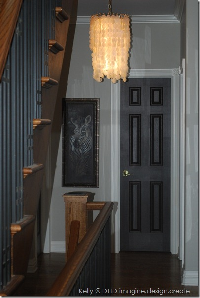 with staircase on