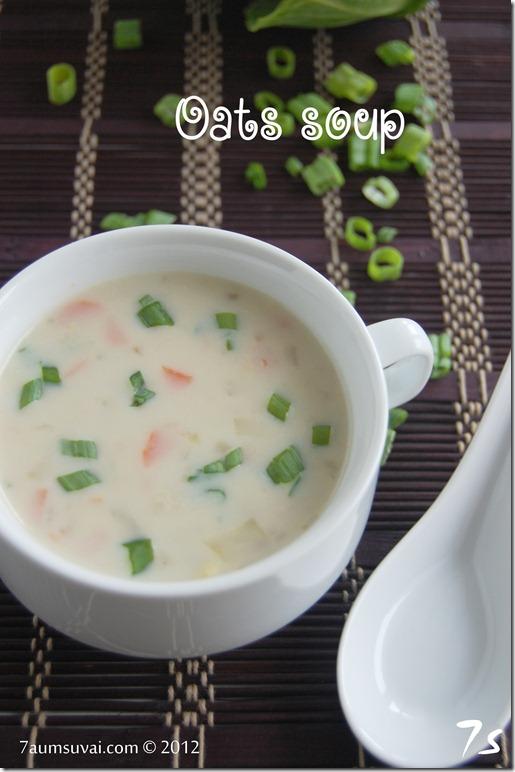 Oats soup