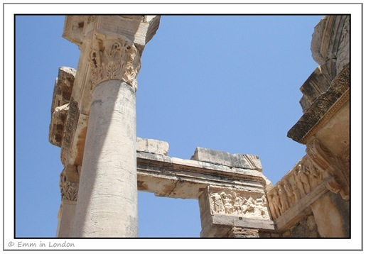 Pillars in Ephesus
