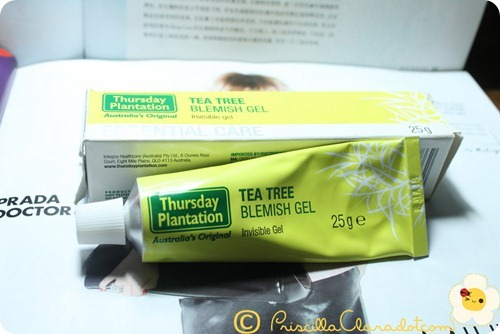 Priscilla review Thursday Plantation tea tree oil 10