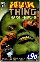P00004 - Hulk vs The Thing - Hard Knocks #4