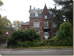 """Guigoven, Tongersesteenweg: het huis """"Les deux Chênes"""", ook kasteeltje Romsée genaamd"""