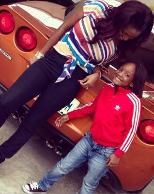 (SNM GIST) TUFACE AND ANNEY'S 4 YEARS OLD DAUGHTER MAKES NOLLYWOOD DEPUTE